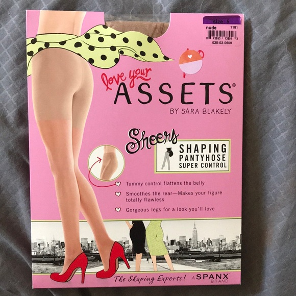 6e93559f5 Love your Assets sheers control pantyhose. NWT. SPANX